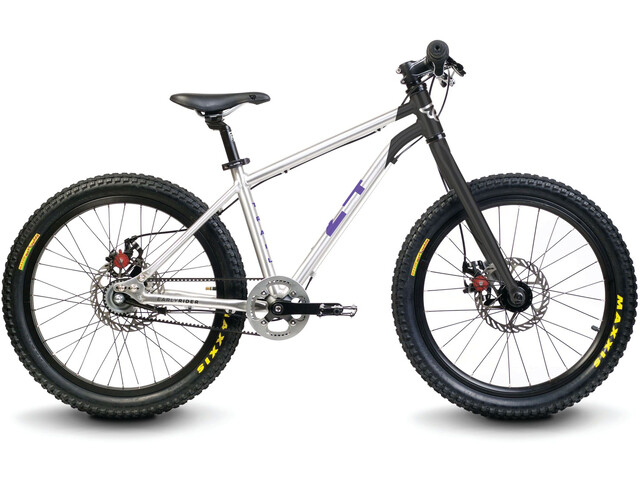 "Early Rider Hellion Trail 24"" Kinderrad brushed aluminum/black"